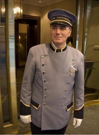 Đồng phục bảo vệ khách sạn bell 10