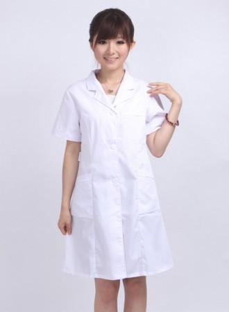Đồng phục bác sỹ nữ  trắng 01