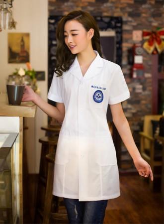 Đồng phục bác sỹ nữ  trắng 05