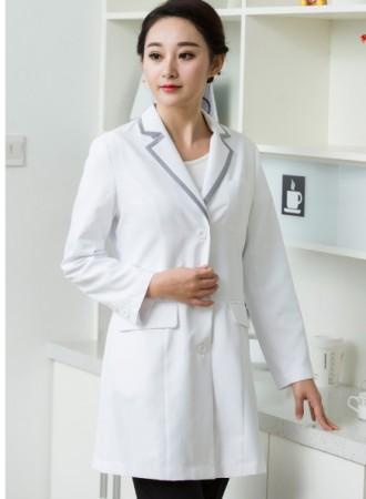 Đồng phục bác sỹ nữ  trắng 07
