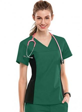 Đồng phục y tá bệnh viện màu xanh 07