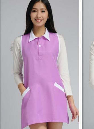 Đồng phục y tá váy yếm cổ đức 20