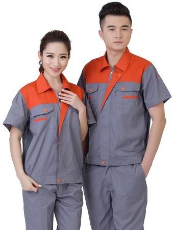 Quần áo công nhân phối màu 14