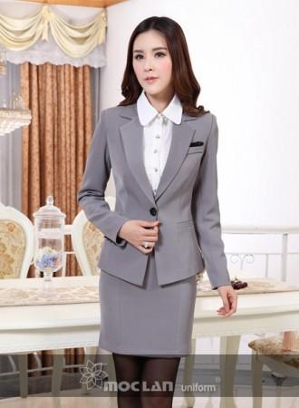 Đồng phục vest nữ 01