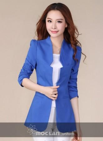 Đồng phục vest nữ 011