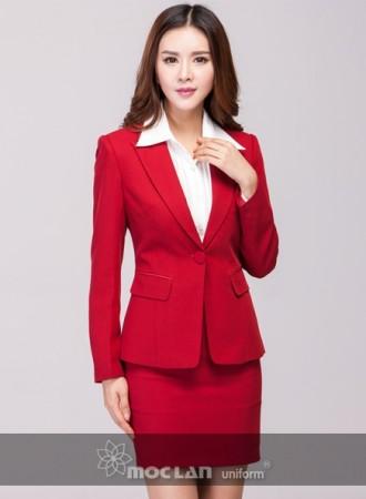 Đồng phục vest nữ 012