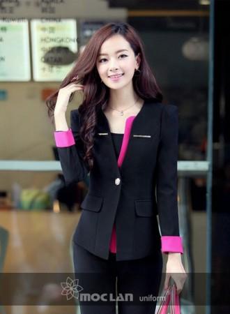 Đồng phục vest nữ 013