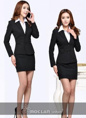 Đồng phục vest nữ 014