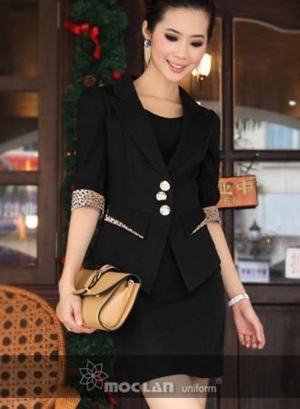 Đồng phục vest nữ 06
