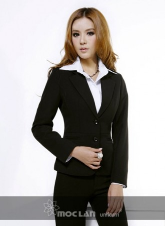 Đồng phục vest nữ 09