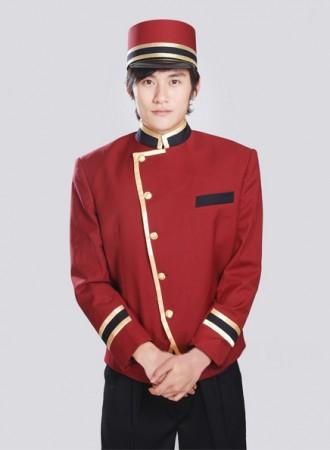 Đồng phục bảo vệ khách sạn bell 01
