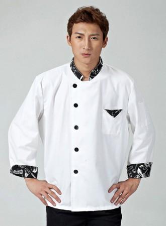 Áo bếp trắng 13