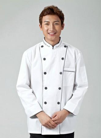 Áo bếp trắng 15