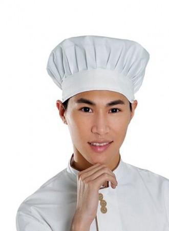 Đồng phục bếp, Mũ bếp 02