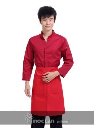 Đồng phục phục vụ đỏ 13
